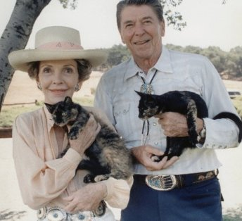 Ronald Reagan's cat