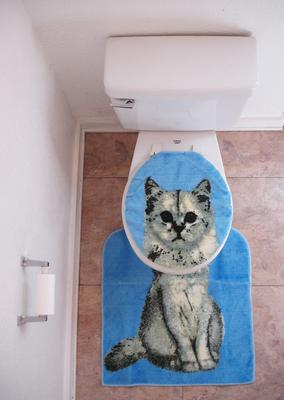 Cat Toilet Seat Lid Covers