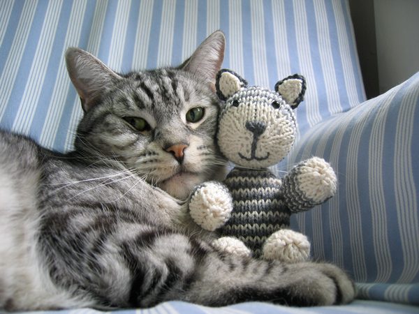 knitting cat toys