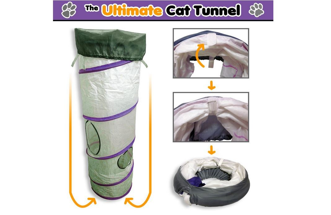 Ultimate cat tunnel review by Pita Cat