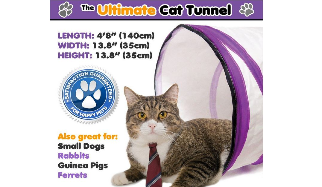 Ultimate cat tunnel review